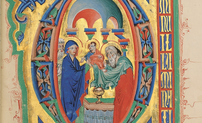 Breslauer Psalter, fol. 40r