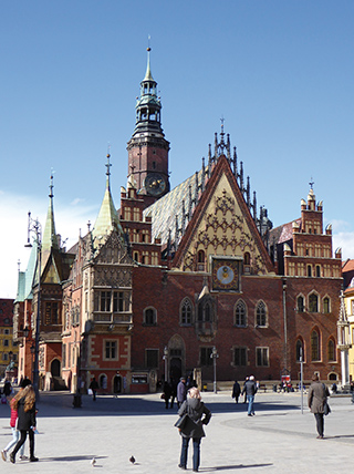 Breslau / Wrocław, Altes Rathaus