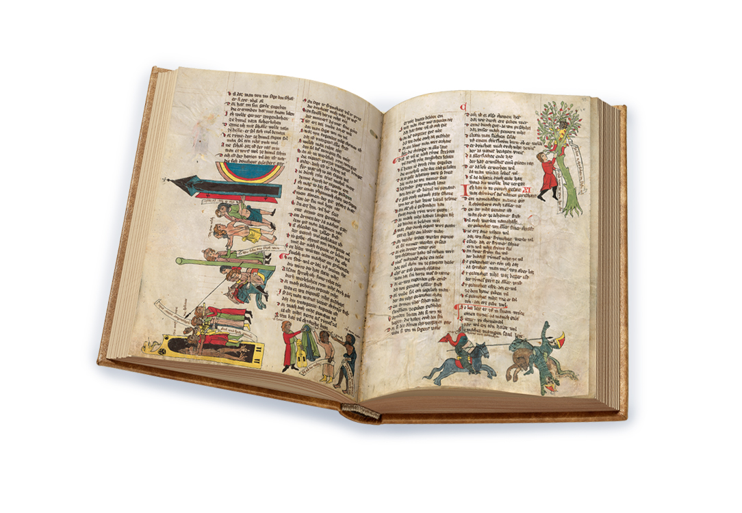 The Welscher Gast, fols. 32v-33r