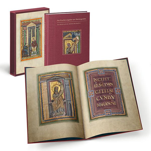 Kunstbuch-Edition: Das Prachtevangeliar von Mariengraden