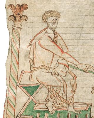 Sternbilder der Antike, Bissspuren am Rand von fol. 11v