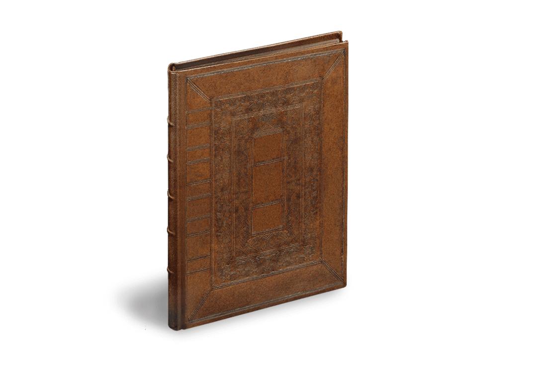 Sternbilder der Antike, Einband der Faksimile-Edition