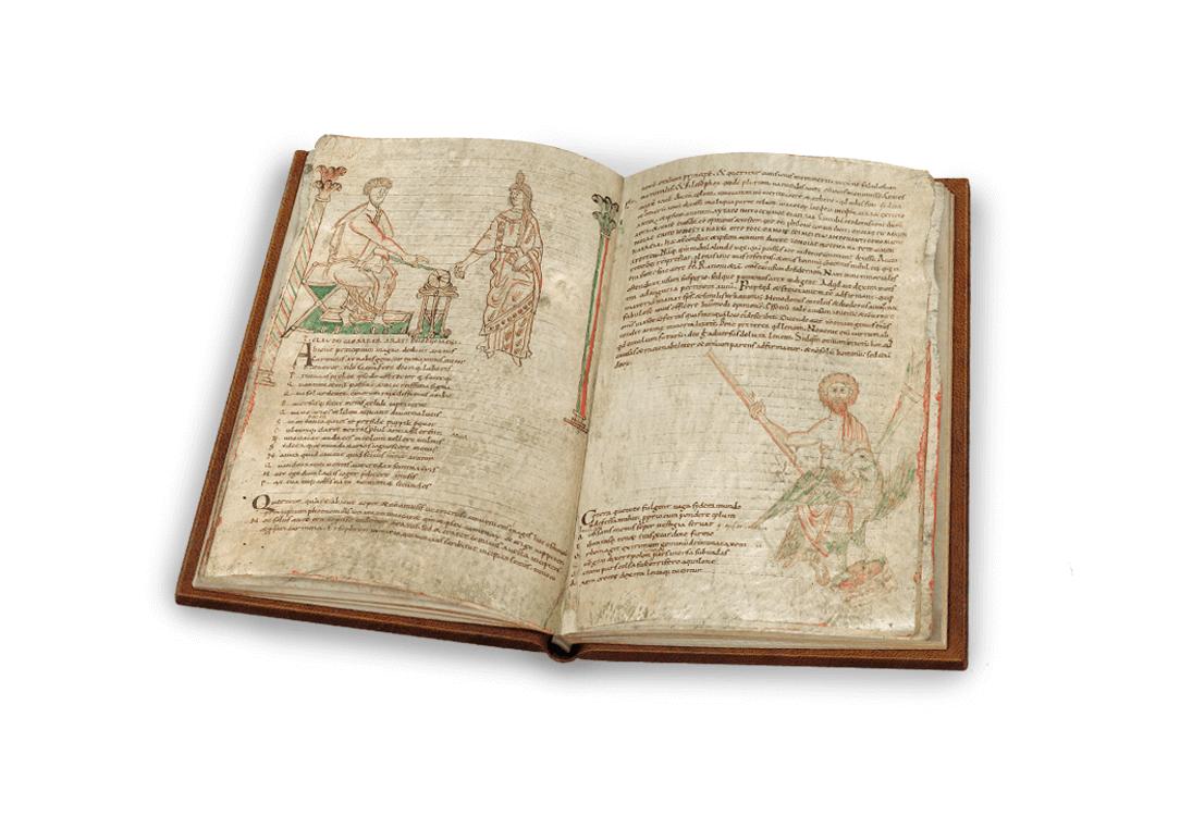 Sternbilder der Antike, offener Band, fol. 11v–12r
