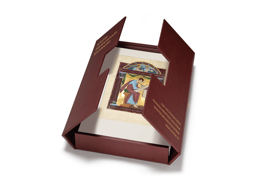 Schätze der Reichenauer Buchmalerei, Faksimile-Kassette