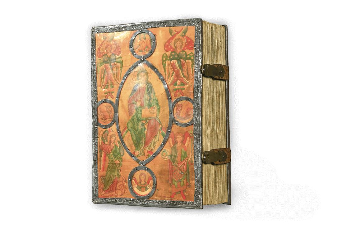 Bamberger Psalter, faksimilierter Hornplatteneinband