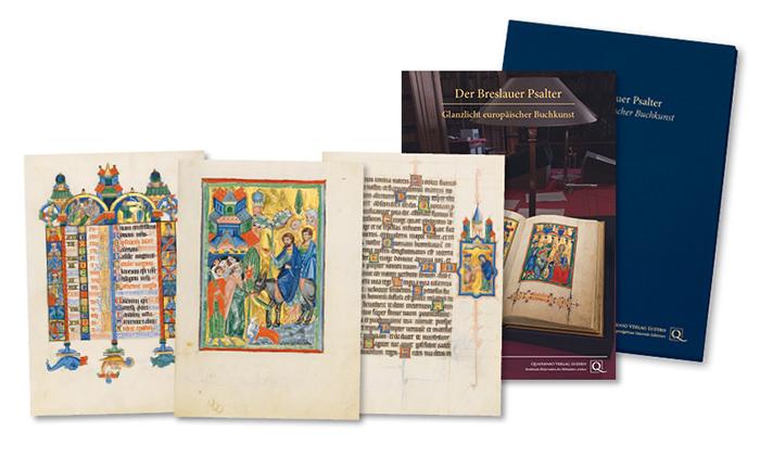 Breslauer Psalter, Faksimilemappe zur Edition