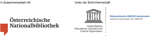 Wiener Genesis, Faksimile-Edition, Band stehend und aufgeschlagen