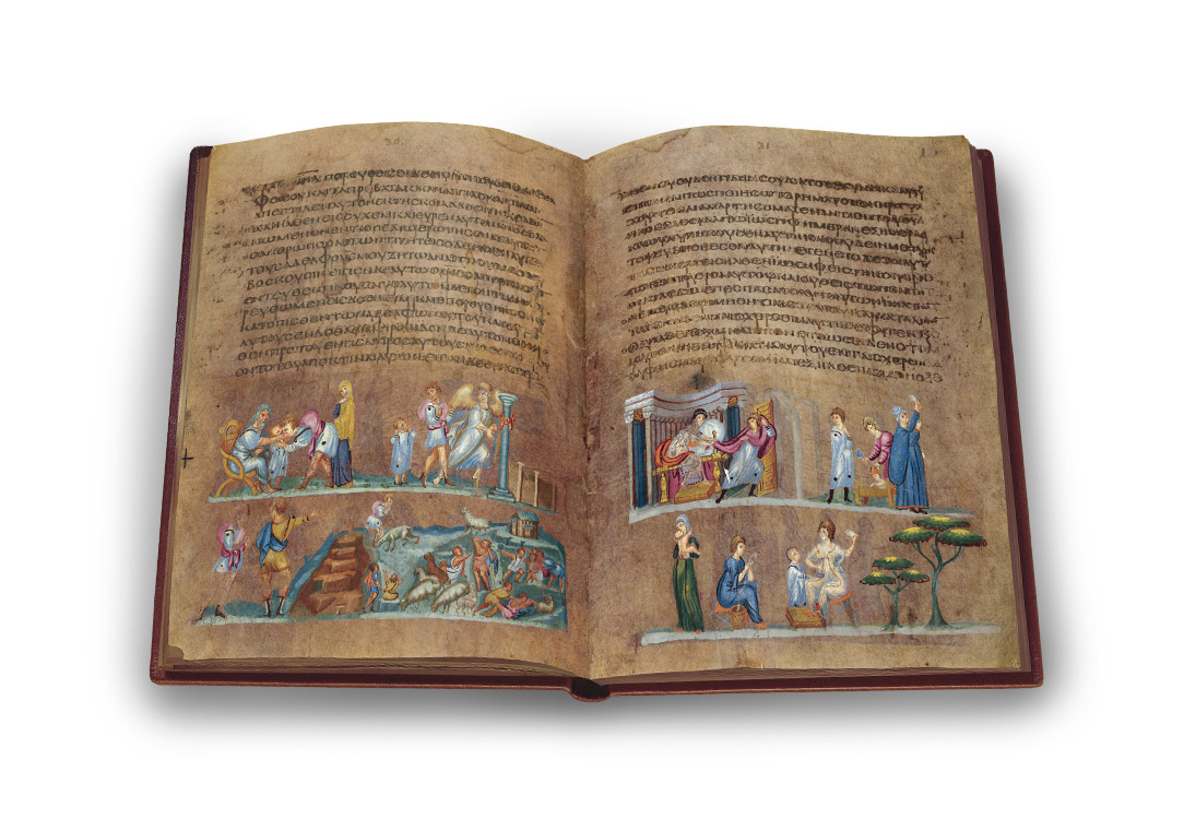 Wiener Genesis, p. 30–31