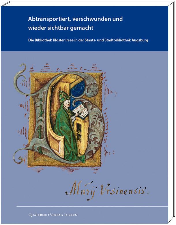 """Katalogband """"Abtransportiert, verschwunden und wieder sichtbar gemacht"""" (Bibliothek Kloster Irsee), Grafik mit Cover"""