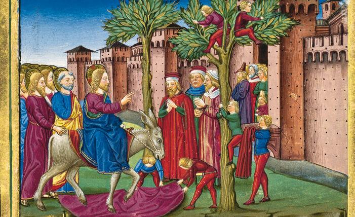 Legendarium der Sforza, fol. 95v