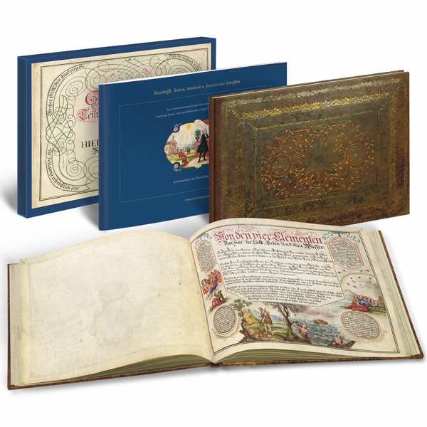 Kunstbuch-Edition: Vorschrifft, Teutsch- lateinisch- und französischer Schrifften – Das Schreibmeisterbuch des Hieronymus Tochtermann