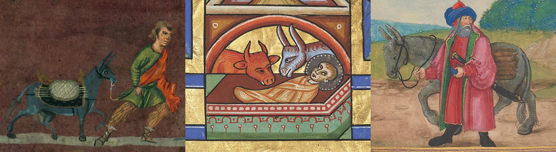 Biblische Esel - Quaternio Adventskalender 2019