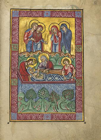 L'Évangélaire de Brandebourg, fol. 54r
