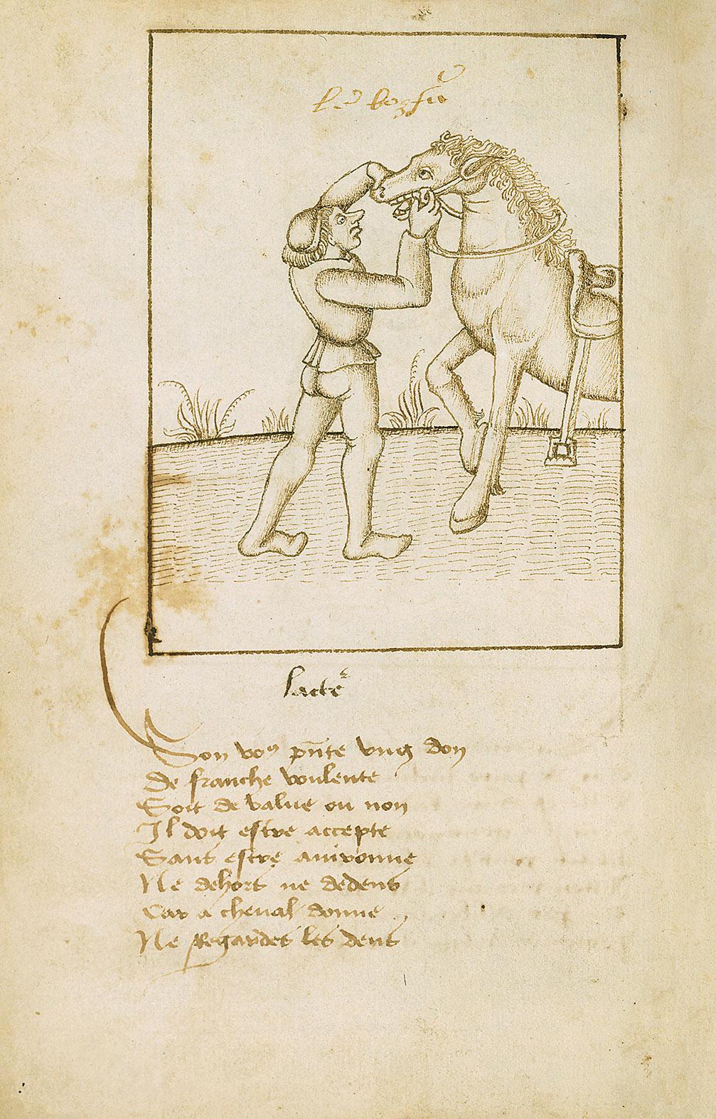 Kunstbuch-Edition: Proverbes en rimes, fol. 17v
