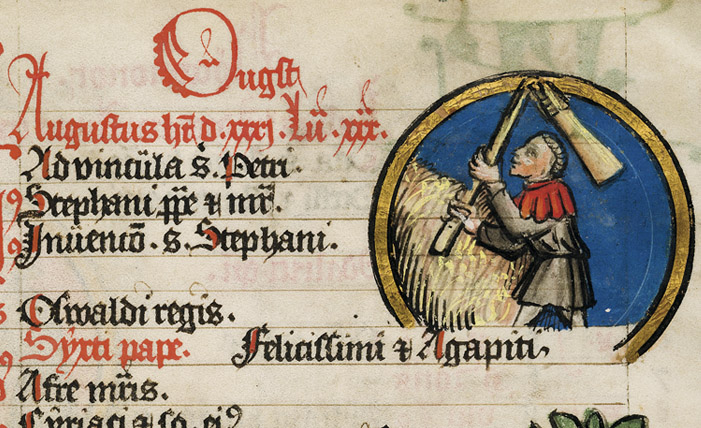 Medical-Astronomical Calendar, Medaillon