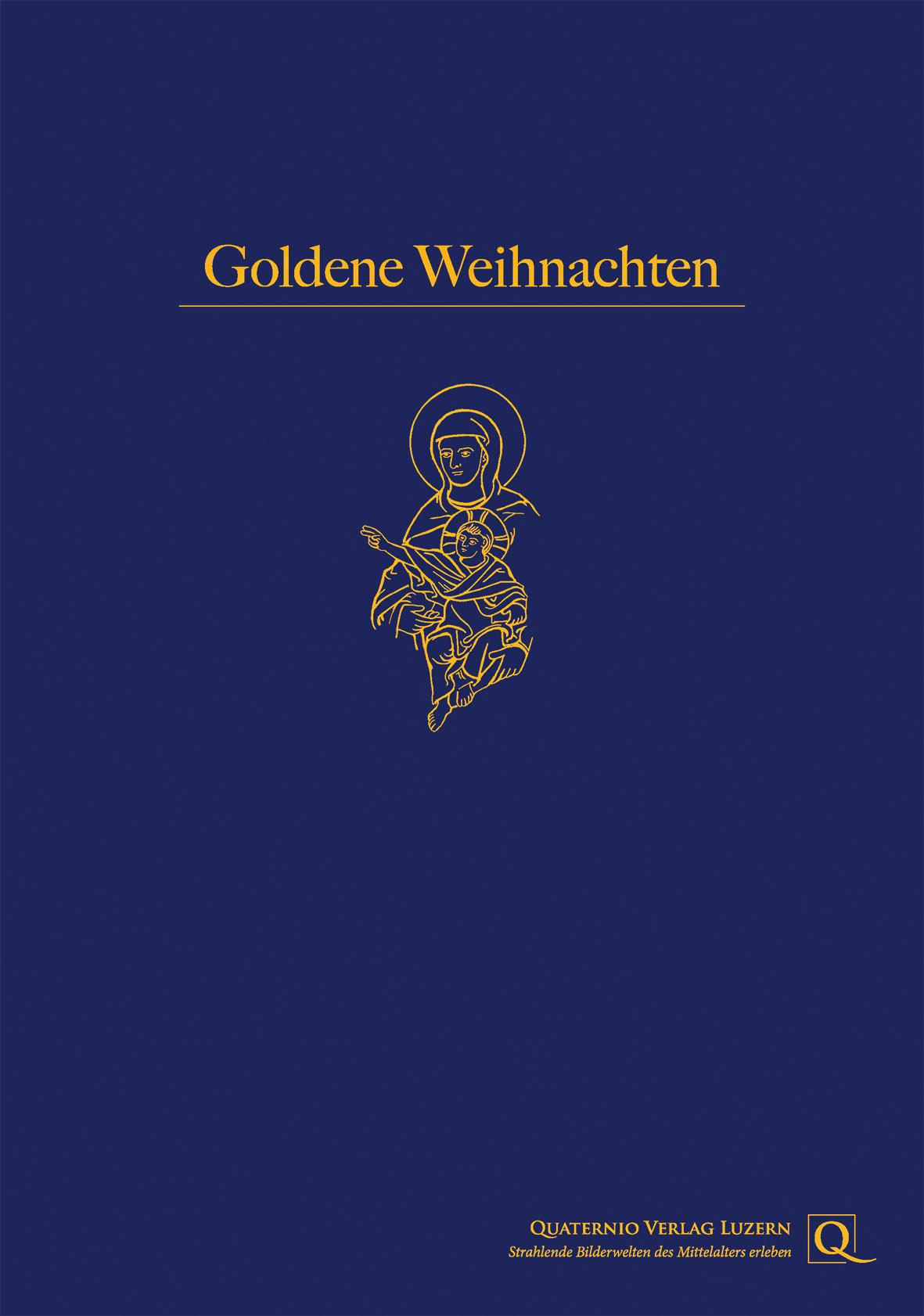 Weihnachtsmappe aus dem Quaternio Verlag Luzern - Edition Buch & Kunst