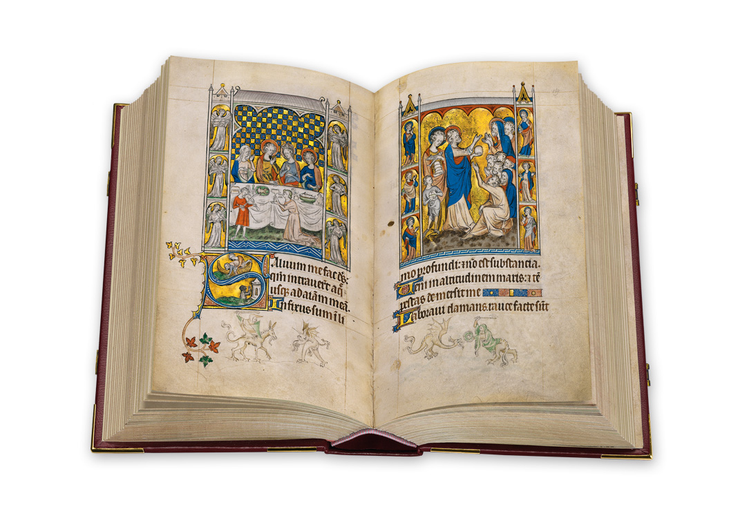 The Queen Mary Psalter