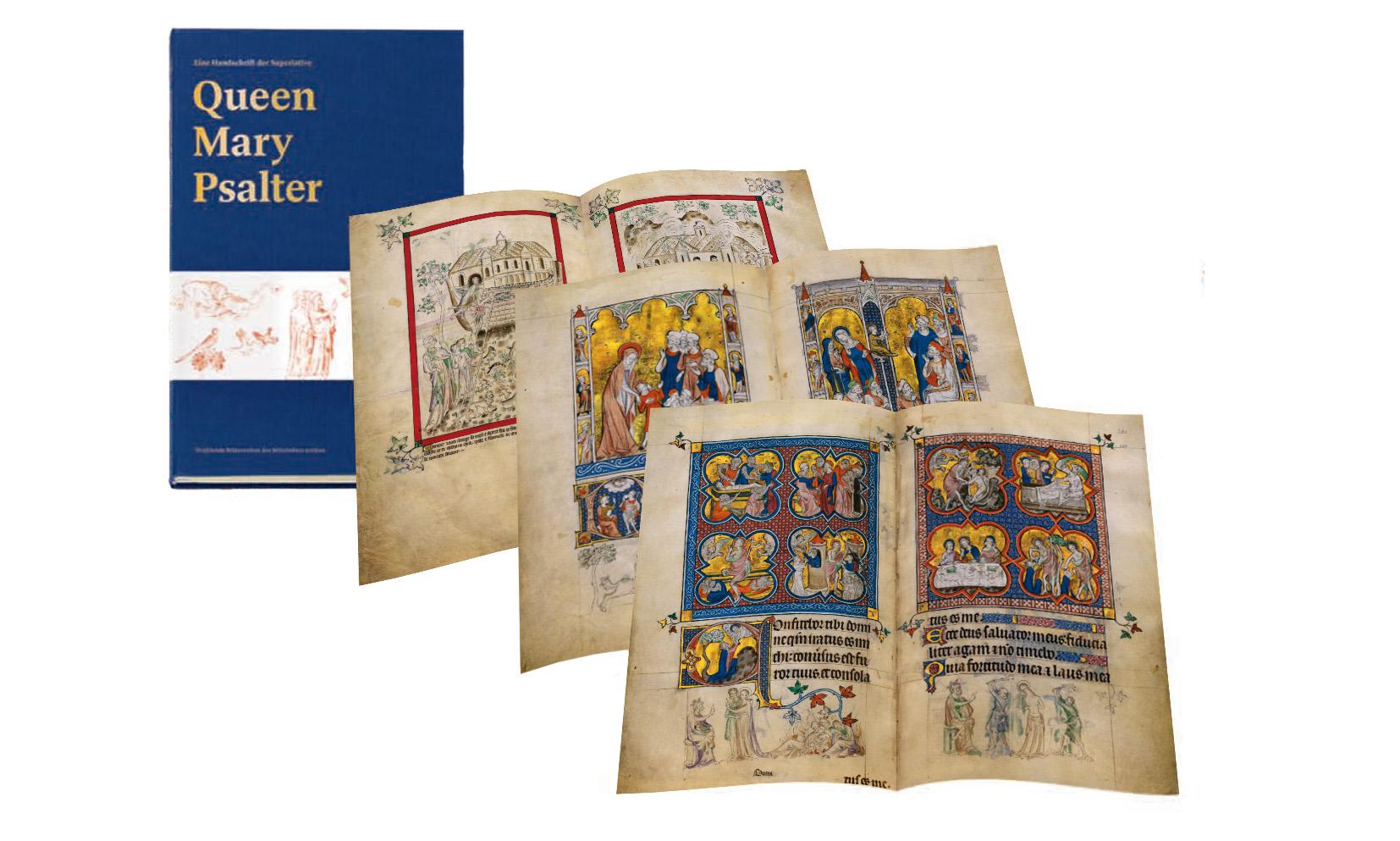 Queen-Mary-Psalter, Faksimiledossier