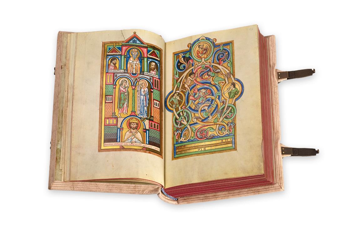 The Stammheim Missal, fol. 10v–11r