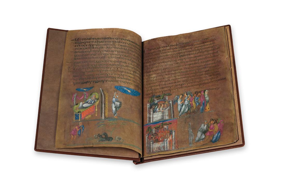 The Vienna Genesis, p. 30–31