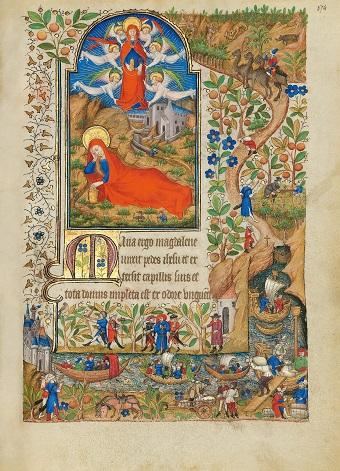 Stundenbuch der Margarete von Orléans, fol. 174r