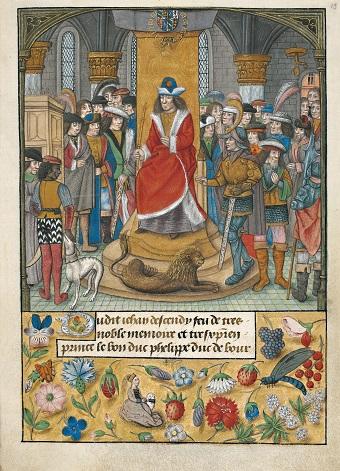 Flämische Bilderchronik Philipps des Schönen, fol. 13r