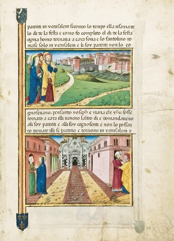 Legendarium der Sforza, fol. 43r