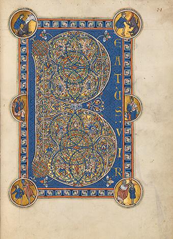 Goldener Münchner Psalter, fol. 31r
