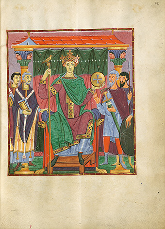 Evangeliar Ottos III., fol. 24r