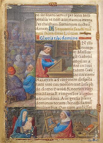 Gebetbuch der Claude de France, fol. 2v
