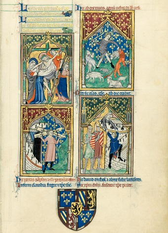 Peterborough-Psalter, fol. 64r
