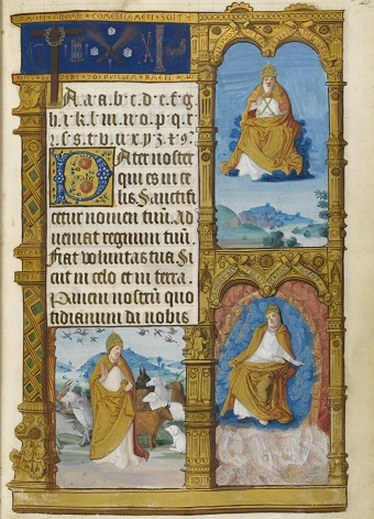 Fibel der Claude de France, fol. 3r = p. 2