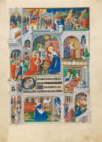 Sobieski-Stundenbuch, fol. 24r
