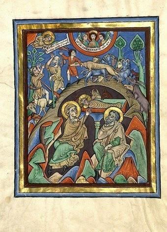 Speyerer Evangelistar, fol. 5v